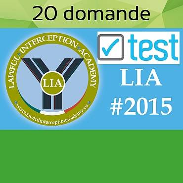 Test LIA#2015